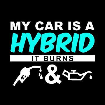 Mi coche es híbrido LOL de ArtjomDesign