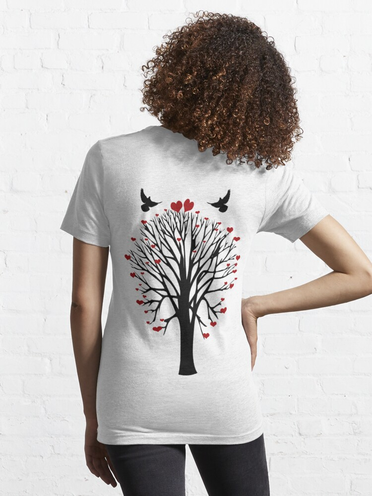 Alternate view of  Love Birds Tree T Shirt Essential T-Shirt