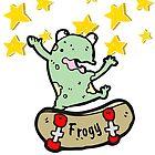 Frogy The Skateboarding Frog by RollingStore .