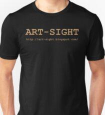 ART-SIGHT beige Unisex T-Shirt