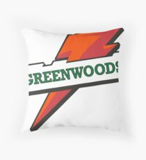 Camp Greenwoods Throw Pillow
