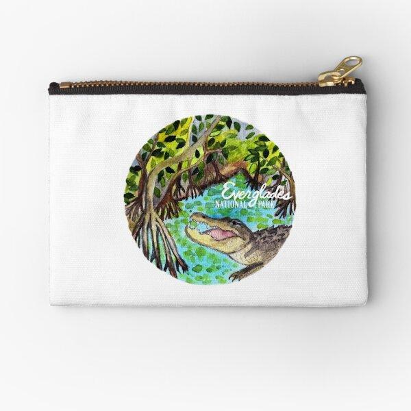 Everglades National Park Watercolor  Zipper Pouch