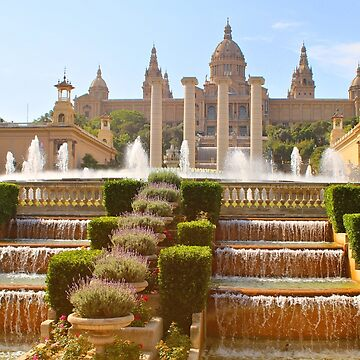 Cascades and Fountain, Barcelona, Spain by FranWest