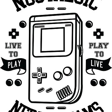 Nostalgic Nerd Dreams Gaming Console Gameboy by emphatic