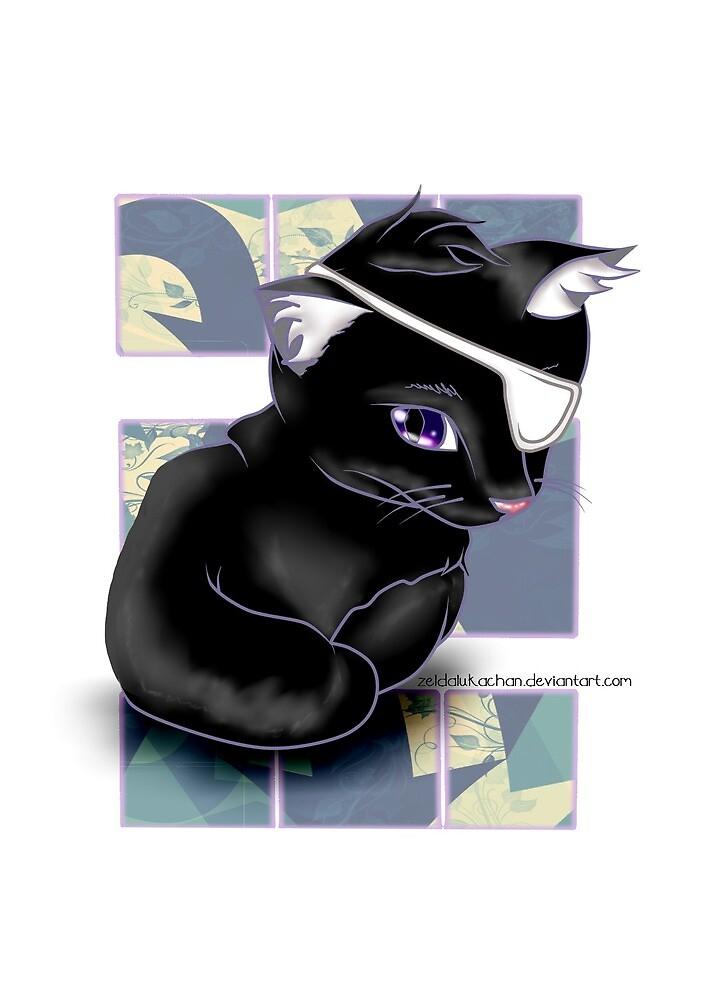 Little cat by ZeldaLukaChan