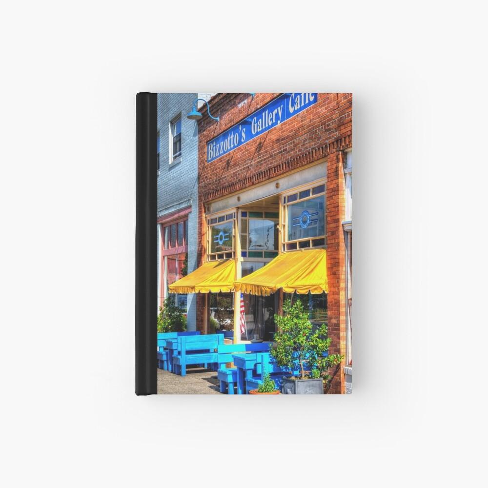 Quaint Caffe Hardcover Journal