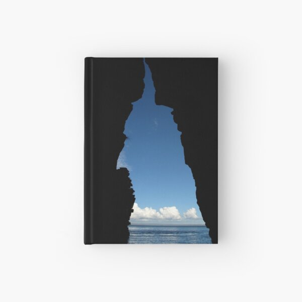 Aqua Cave Hardcover Journal