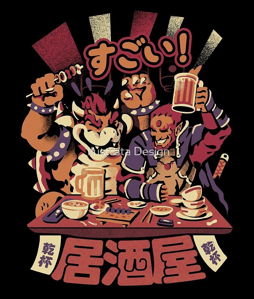 Villain's Izakaya by Ilustrata Design
