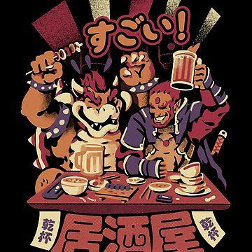 Izakaya de villano de ilustrata