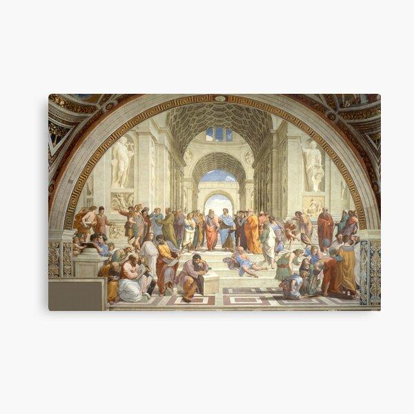 The School of Athens, Raphael, 1511 Canvas Print