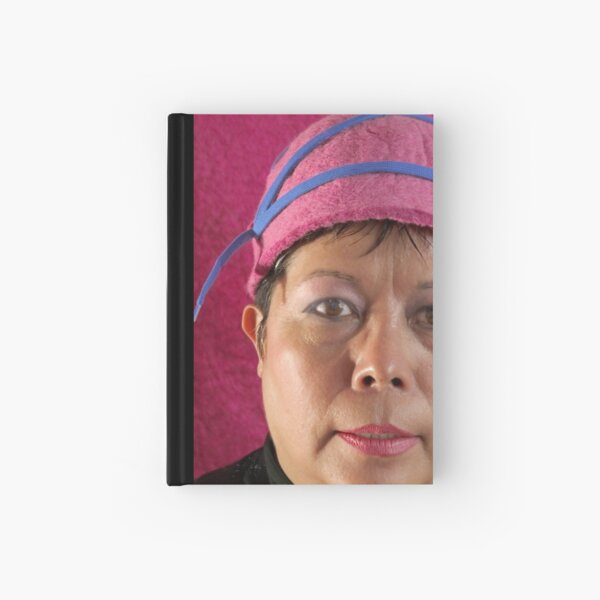 (523) Cloche with shoelaces (card) Hardcover Journal