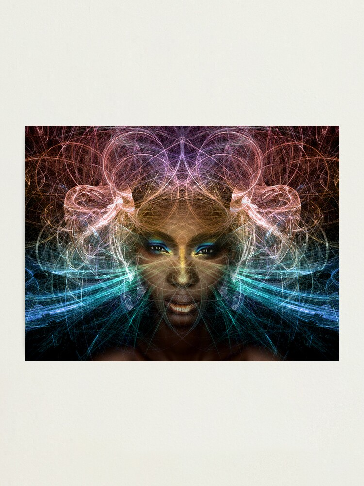 Alternate view of Isis goddess of rebirth and magic Photographic Print