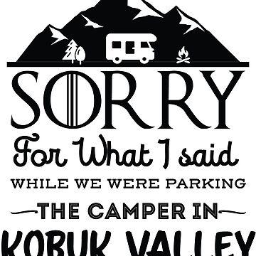 Kobuk Valley National Park Alaska Hiking Camping Gift by NationalParksCo