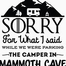 Mammoth Cave National Park Kentucky Hiking Camping Gift by NationalParksCo