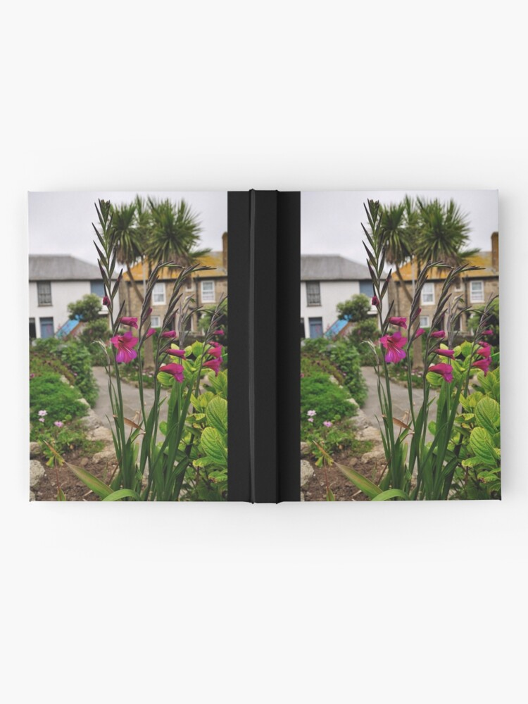 Alternate view of Flowers In a Border Hardcover Journal