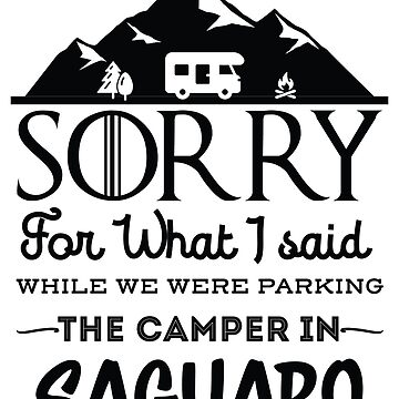 Saguaro National Park Arizona Hiking Camping Gift by NationalParksCo