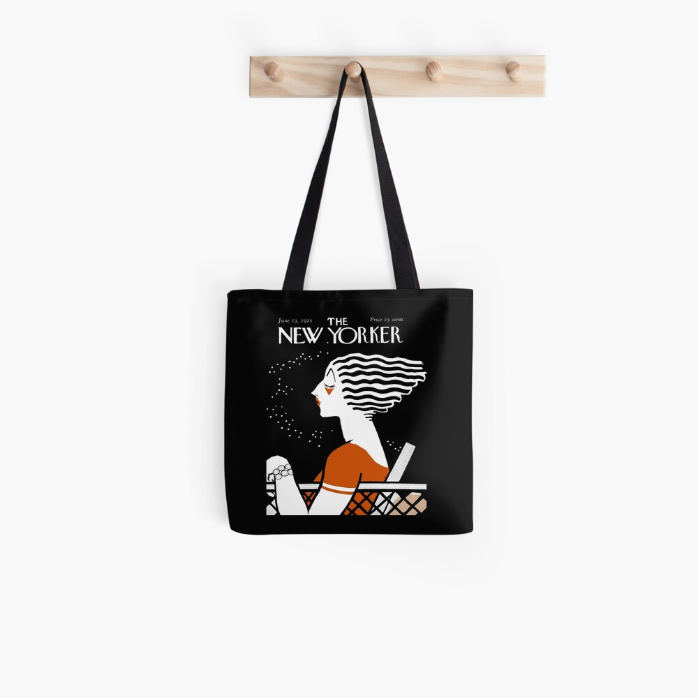 NEW YORKER : Vintage 1935 Magazine Cover Print Tote Bag