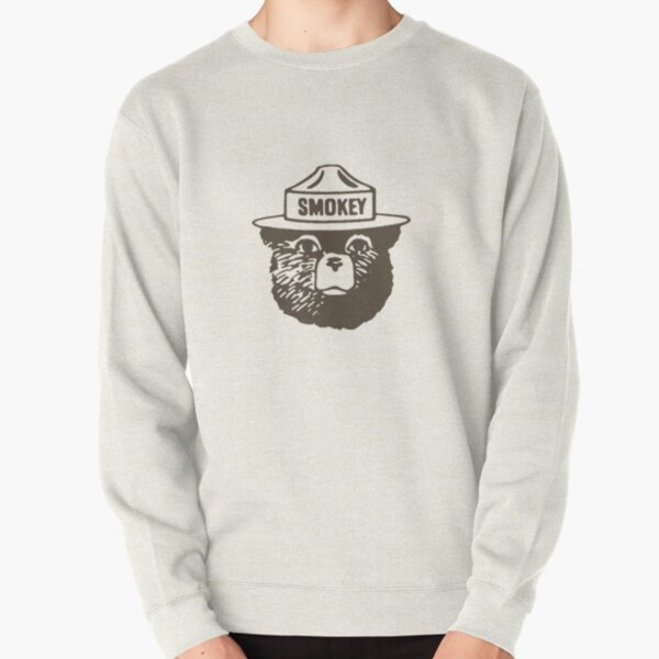 Smokey The Bear - Forest Fire Prevention Dope Pullover Sweatshirt
