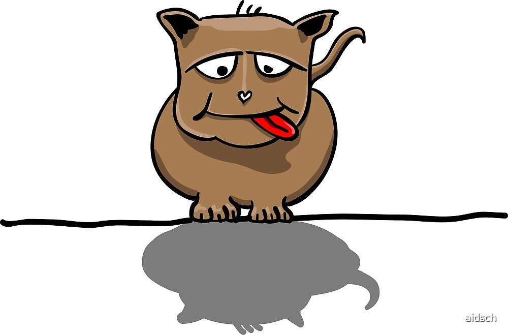 Grumpy Dog by aidsch