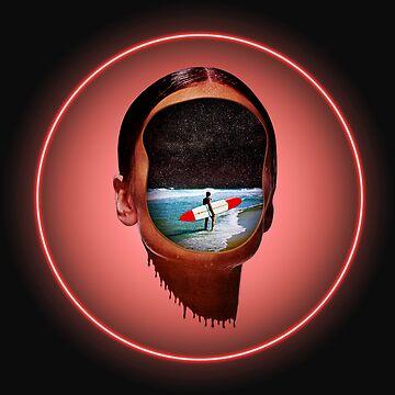 Neon Girl by taudalpoi
