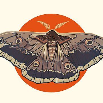Moth by FionaCreates72
