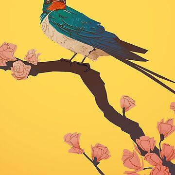 Swallow by FionaCreates72