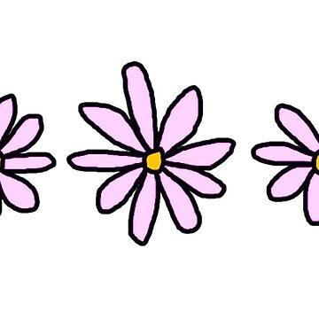 Flores retro de charlo19