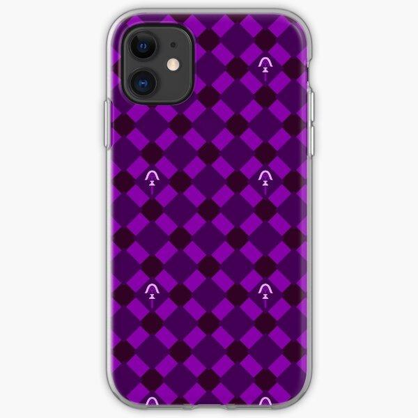 Purple Arrow Tiles iPhone Soft Case