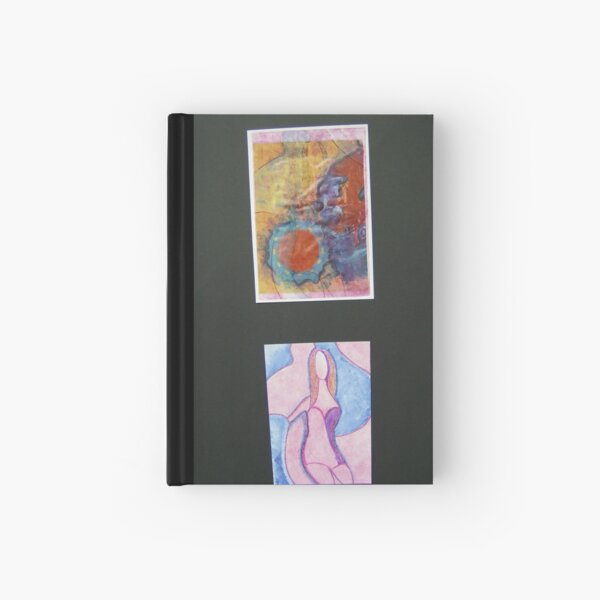 Lady Moon Hardcover Journal