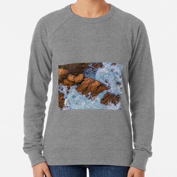 Rock amidst the storm Lightweight Sweatshirt