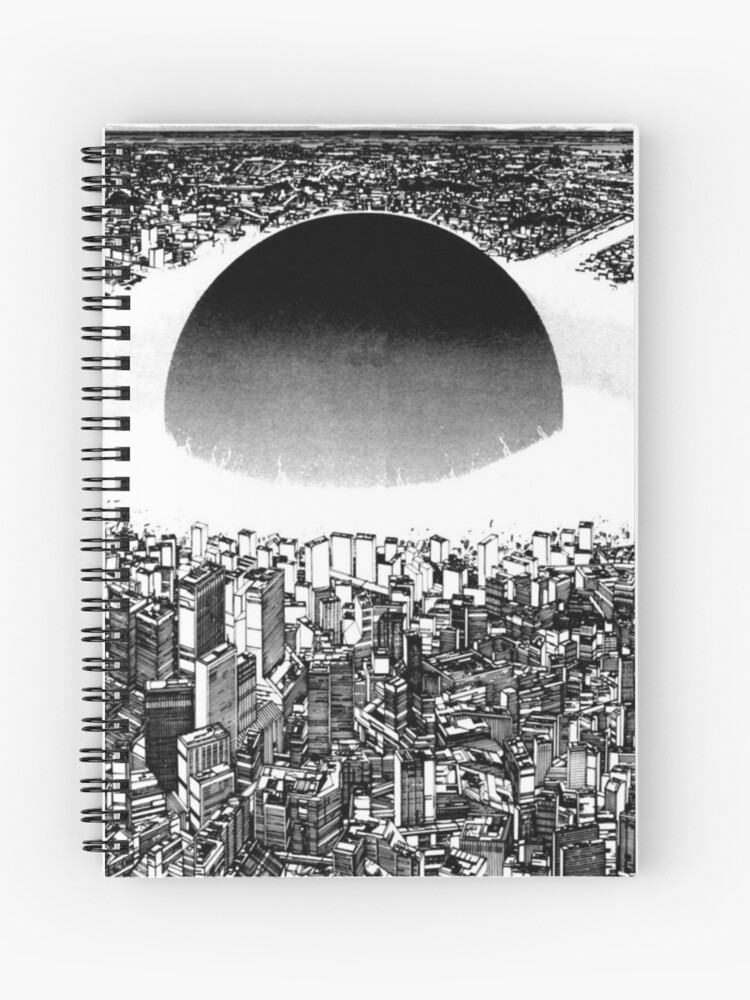 Akira Neo Tokyo Explosion Spiral Notebook By Grandsonmerch Redbubble