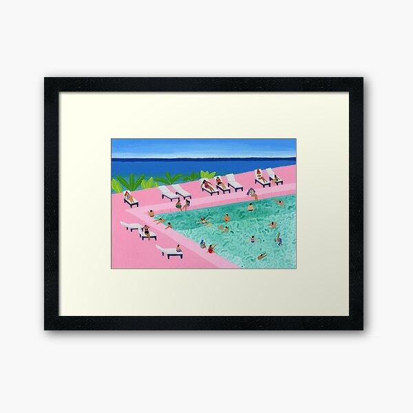 Seaview Framed Art Print