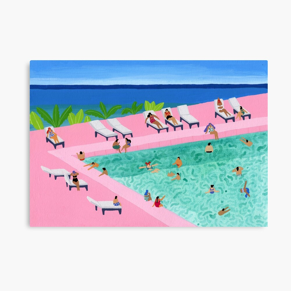 Seaview Canvas Print