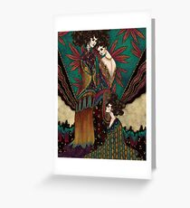 Klimt Muses 1 Greeting Card