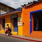 Tepotzlan Mexico Bright Façades by Elena Vazquez