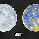 Two Views of Mercury by Justine Lombardi