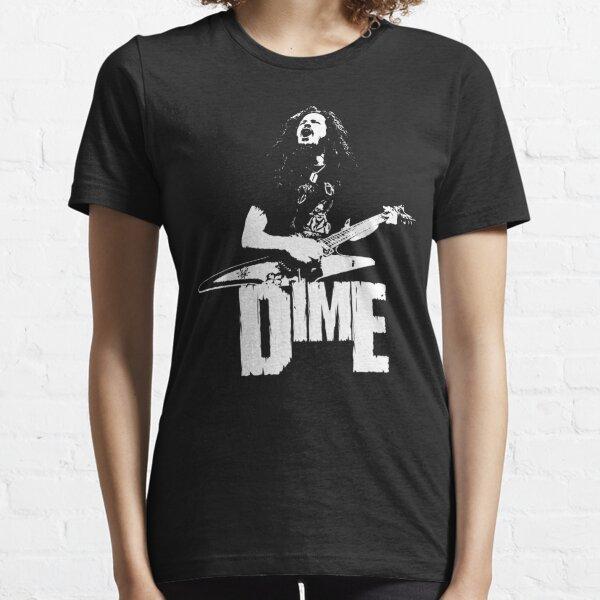 Dime - White Stencil Essential T-Shirt
