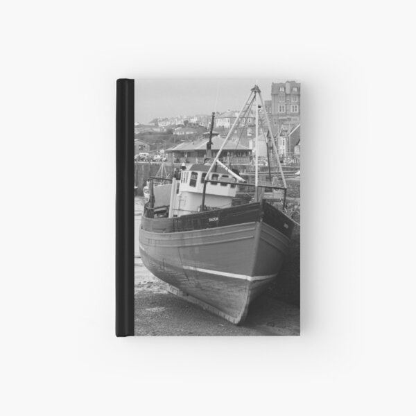 Old boat Hardcover Journal