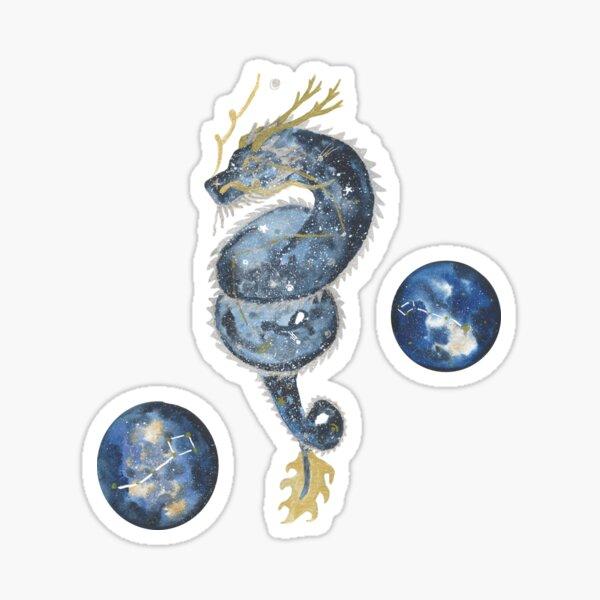 Draco and Ursa Sticker