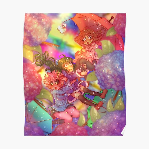 Bnha Girls Posters | Redbubble