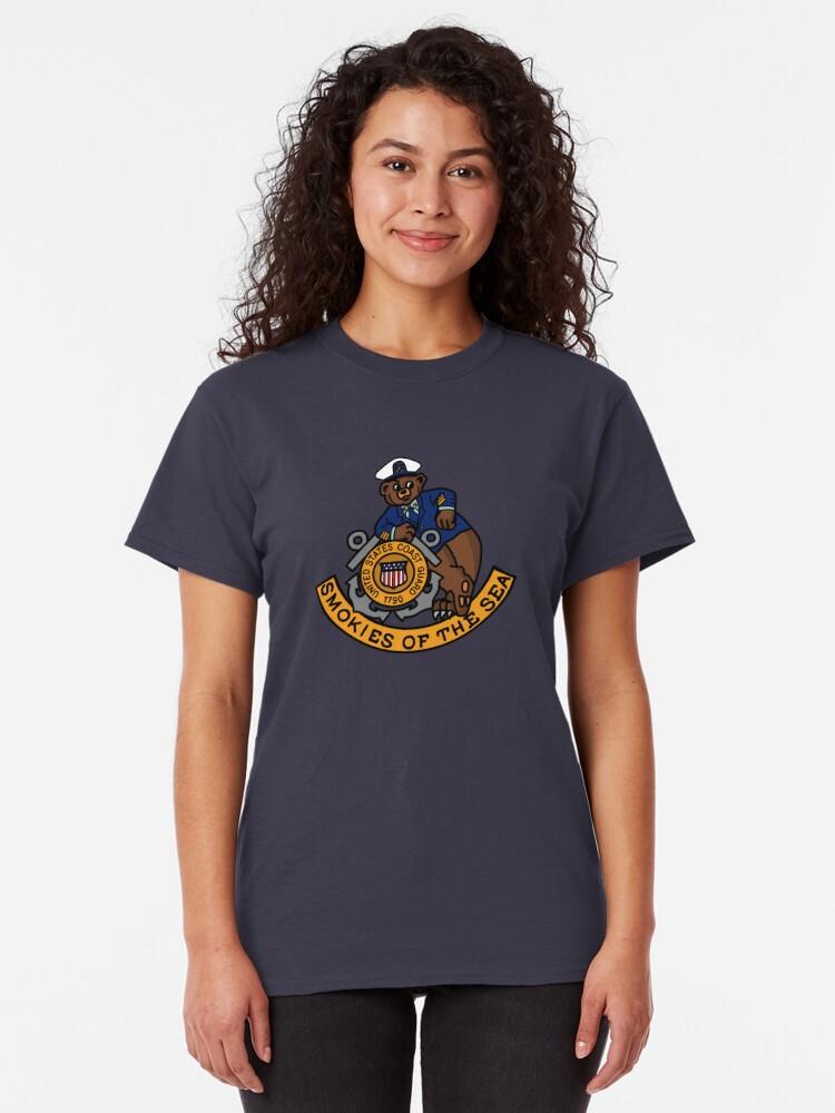 Alternate view of Smokies of the Sea — Bravos Classic T-Shirt