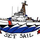 CG 110 Patrol Boat Set Sail by AlwaysReadyCltv