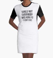 Sicher nicht sicher nicht jeder Kung Fu T-Shirt Kleid