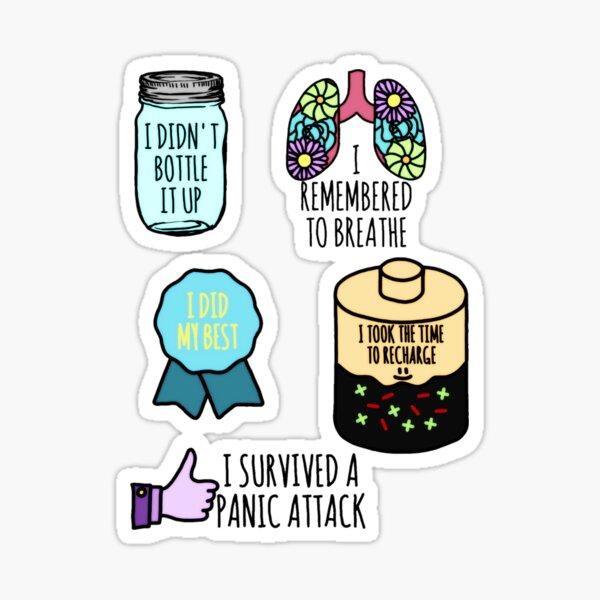 Daily Achievement Mental Health Sticker Pack Sticker