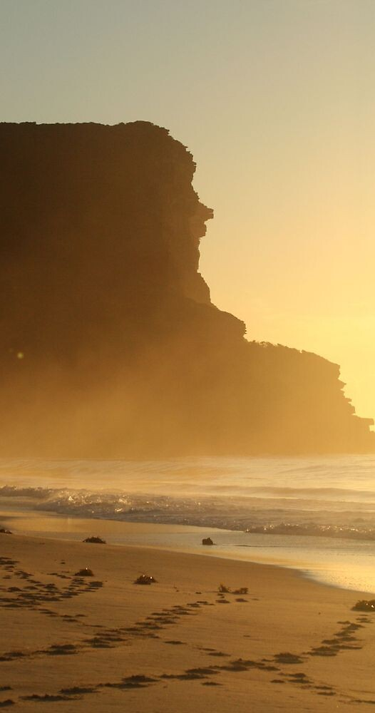 Garie Beach Easter Sunrise by Kezzarama