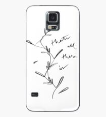 that's all there is Case/Skin for Samsung Galaxy