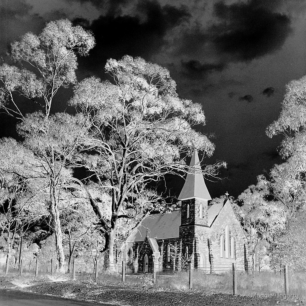 Country church by Maggie Hegarty