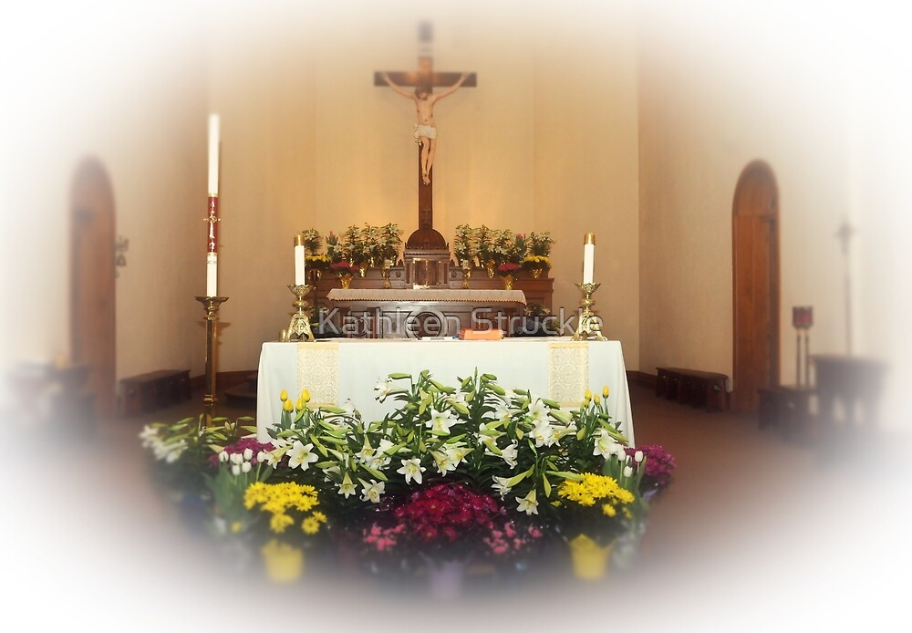 Easter Alter by Kathleen Struckle