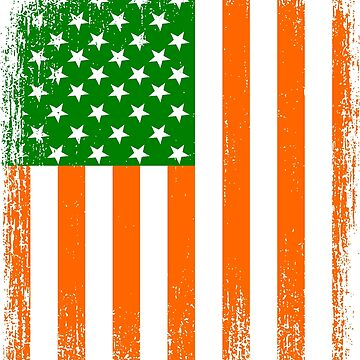 Irish American Flag by EthosWear