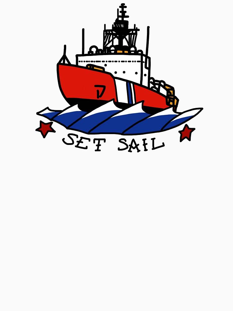 Coast Guard Polar Set Sail by AlwaysReadyCltv